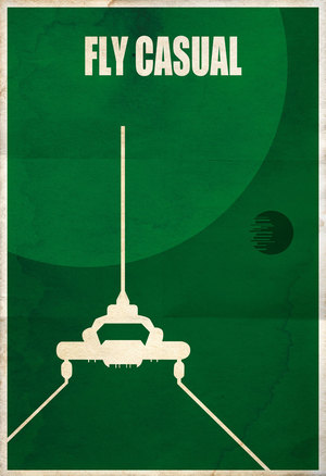 Star Wars Vessel Series Limited 13 x 19 print signed and numbered