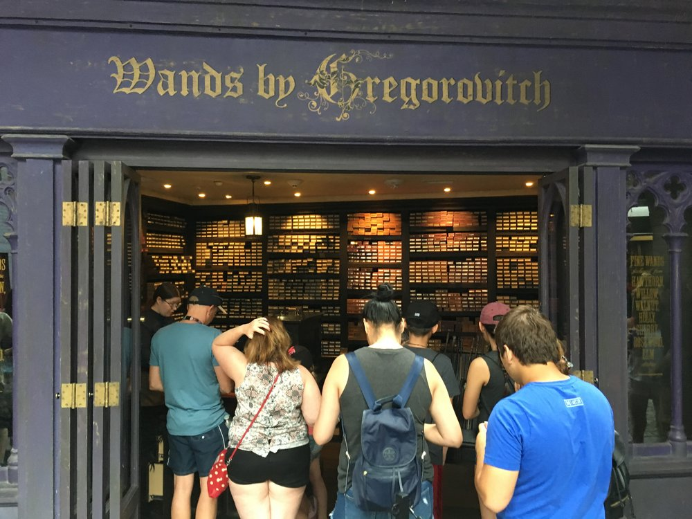 Need a wizarding wand from Gregorovitch's?