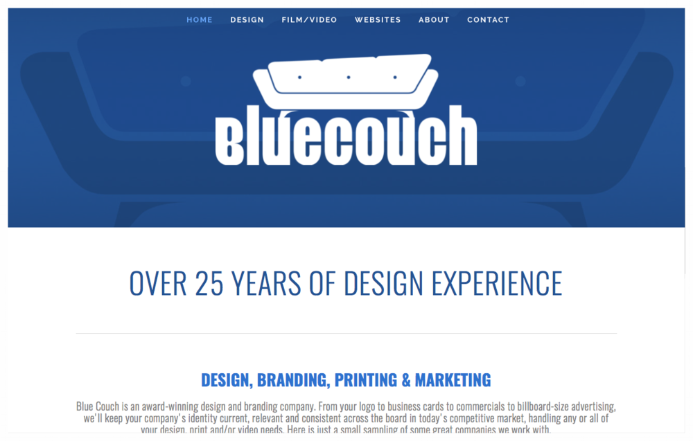 Bluecouch Media is the current name of Jason's media company that is located in West Linn, Oregon. The company began in Southern California back in the 1990s under the name of JDL Design Firm and changed the name to Bluecouch Media after buying out his two partners. Today, he works with many local and international companies, schools and organizations on branding and marketing projects using computer generated and video productions.