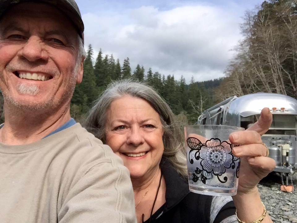 Bob and Doe send cheers as they embark on the adventure of a lifetime.