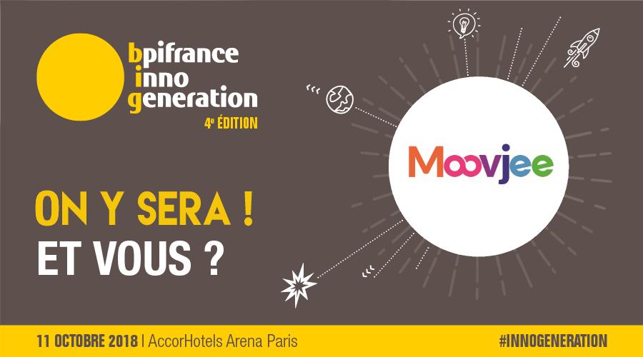 Le 11 octobre, retrouve le Moovjee à la 4ème édition de Bpifrance Inno Génération - BIG de Bpifrance, c'est le plus grand rassemblement d'entrepreneurs d'Europe et la possibilité de développer ton réseau et ton business... Découvrez le programme et bien plus !