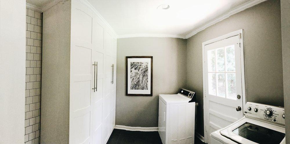 THIS MINIMAL HOUSE BLOG LAUNDRY ROOM PROGRESS