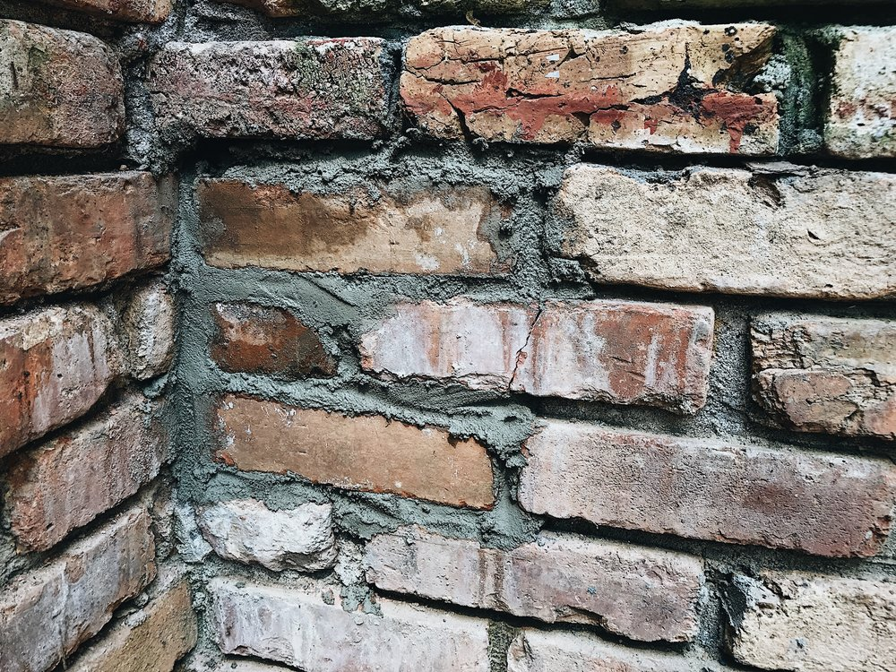 HOW TO REPLACE MISSING BRICKS IN EXISTING BRICK WALL THIS MINIMAL HOUSE BLOG 14.JPG