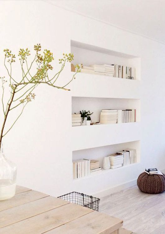 WALL SHELF INSPIRATION