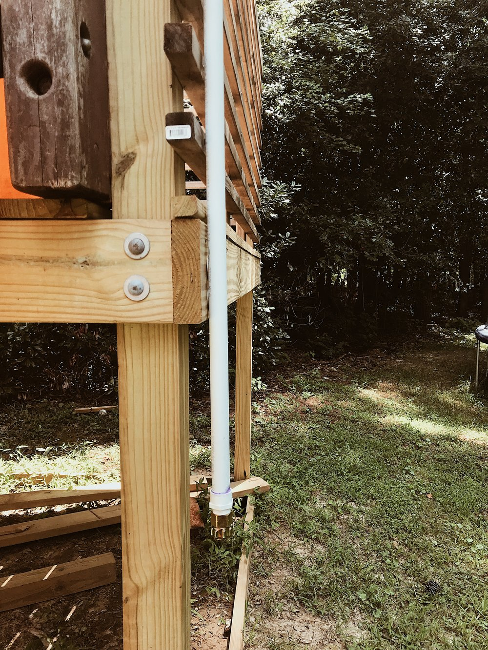 DIY PVC SPRINKLER THIS MINIMAL HOUSE BLOG