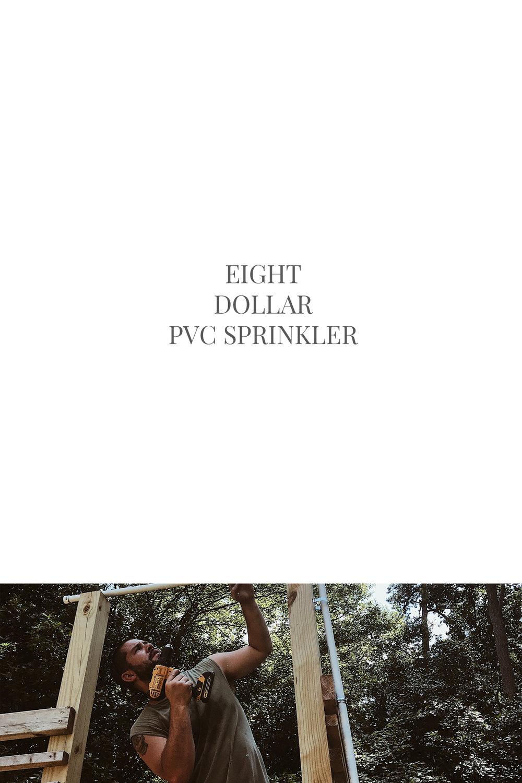 $8 PVC SPRINKLER | THIS MINIMAL HOUSE