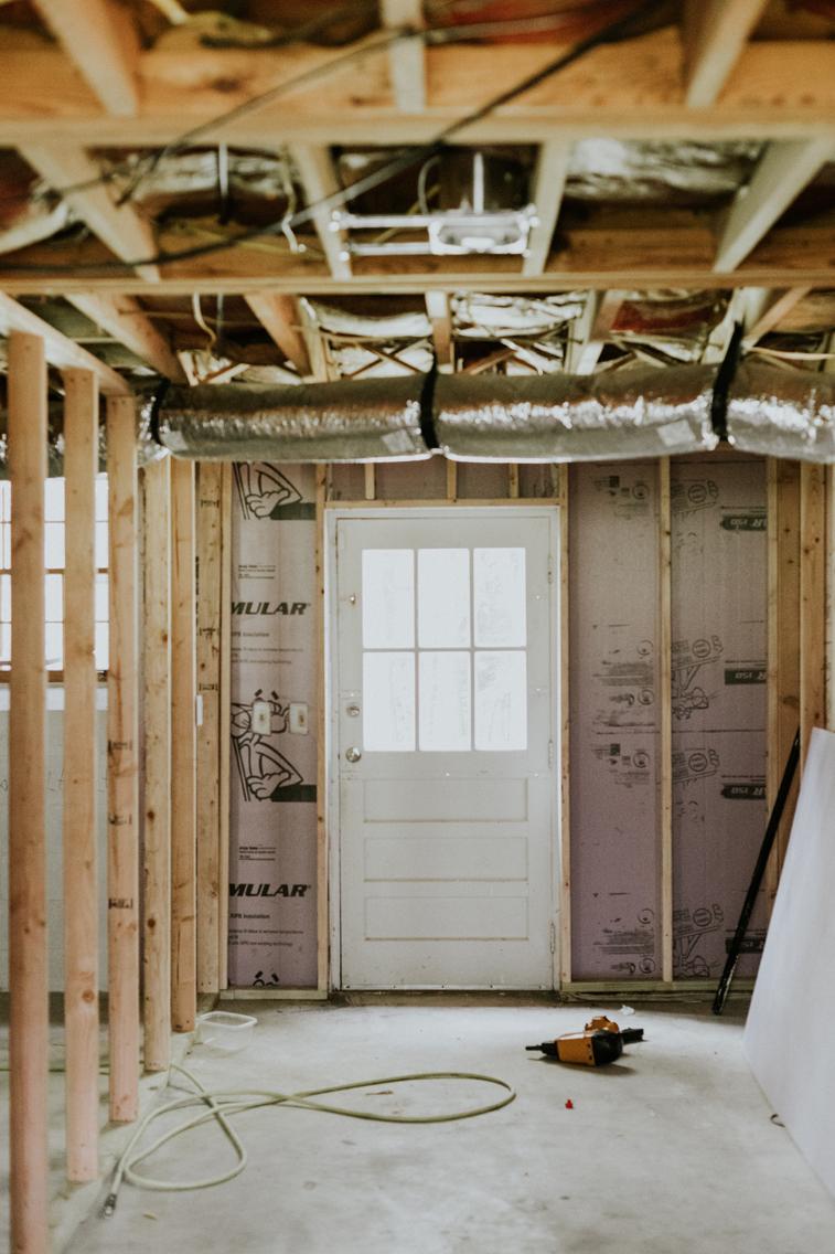 Basement Renovation. www.thisminimalhouse.com