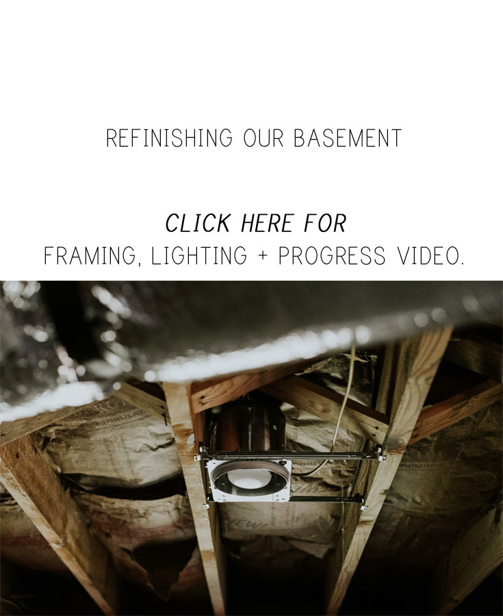REFINISHING OUR BASEMENT. www.thisminimalhouse.com