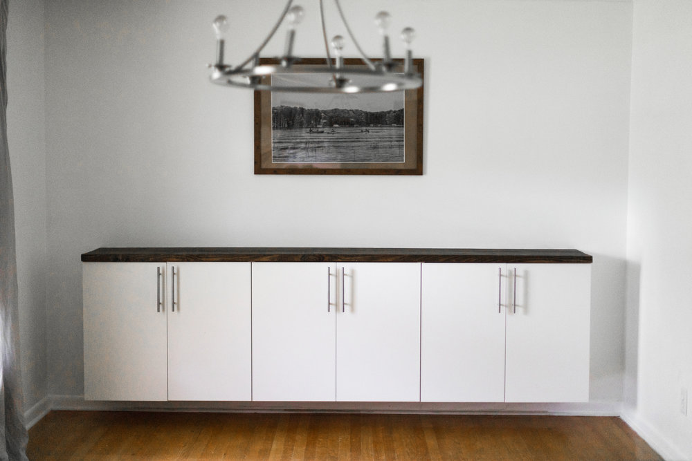 HOW TO BUILD YOUR OWN CREDENZA. www.thisminimalhouse.com