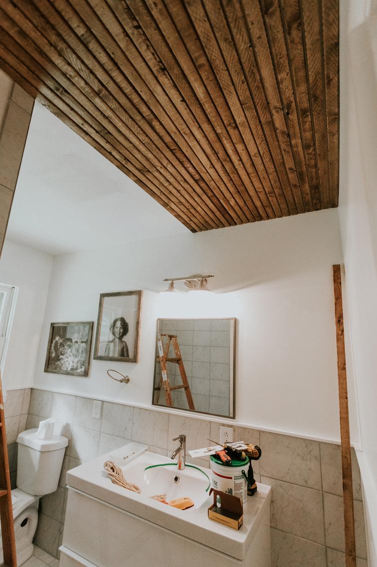 OUR GUEST BATHROOM UPDATE. www.thisminimalhouse.com