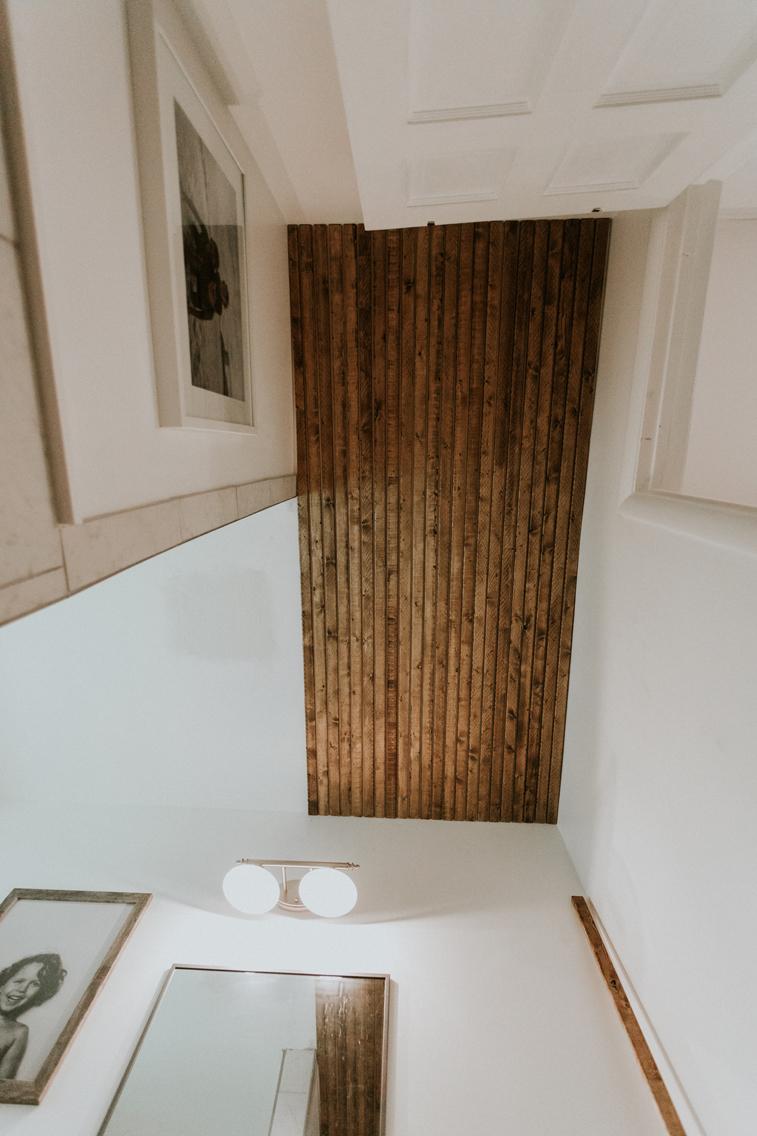 SLATTED BATHROOM CEILING TUTORIAL www.thisminimalhouse.com