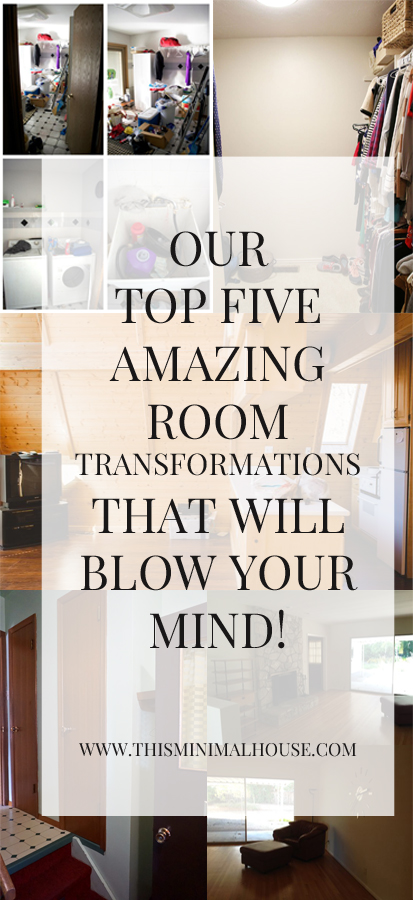 OUR TOP FIVE FAVORITE ROOM TRANSFORMATIONS ROUND UP