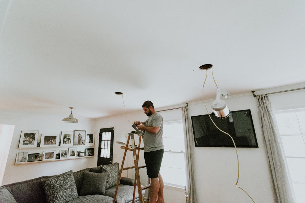 HOW TO INSTALL RECESSED LIGHTING FROM HOME DEPOT.