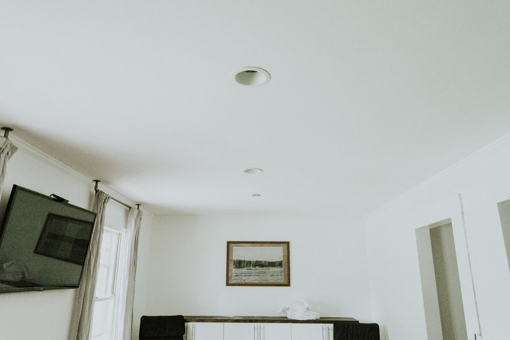 CAN LIGHTS IN FAMILY ROOM