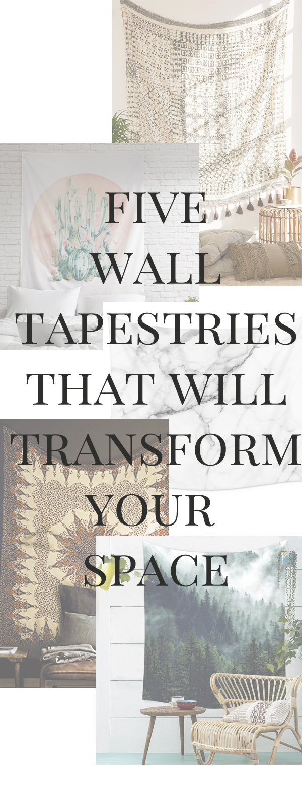 FIVE WALL TAPESTRIES THAT WILL TRANSFORM ANY SPACE IN YOUR HOME!