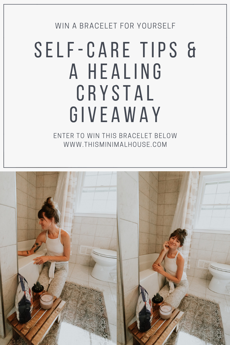 SELF-CARE LOVE & A BRACELET GIVEAWAY
