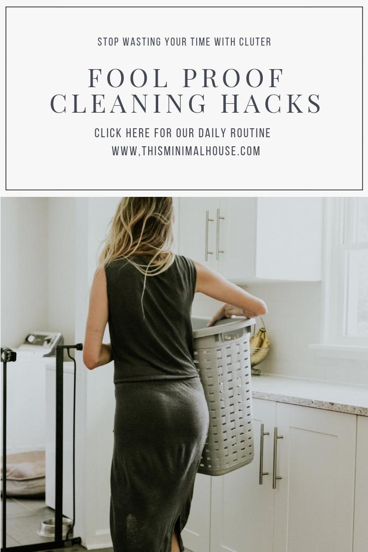 FOOL PROOF CLEANING HACKS