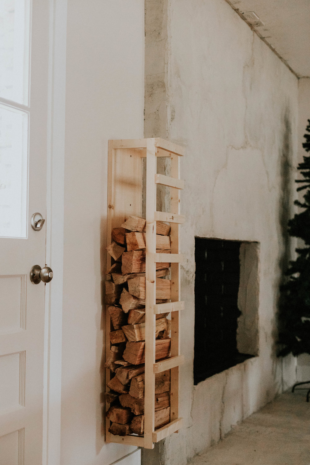 FIREWOOD RACK DIY