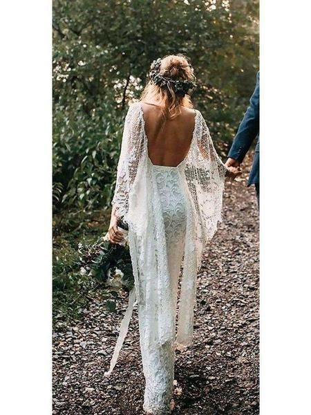 Creating a budget friendly boho bridal look