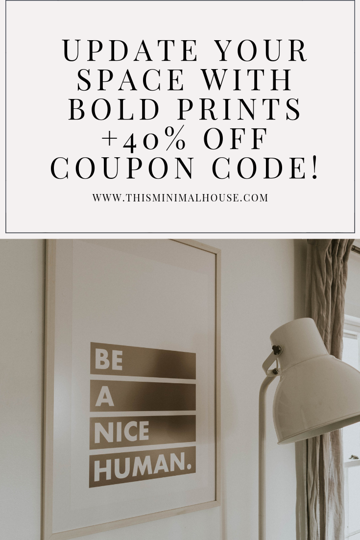 UPDATE YOUR HOME WITH BOLD PRINTS