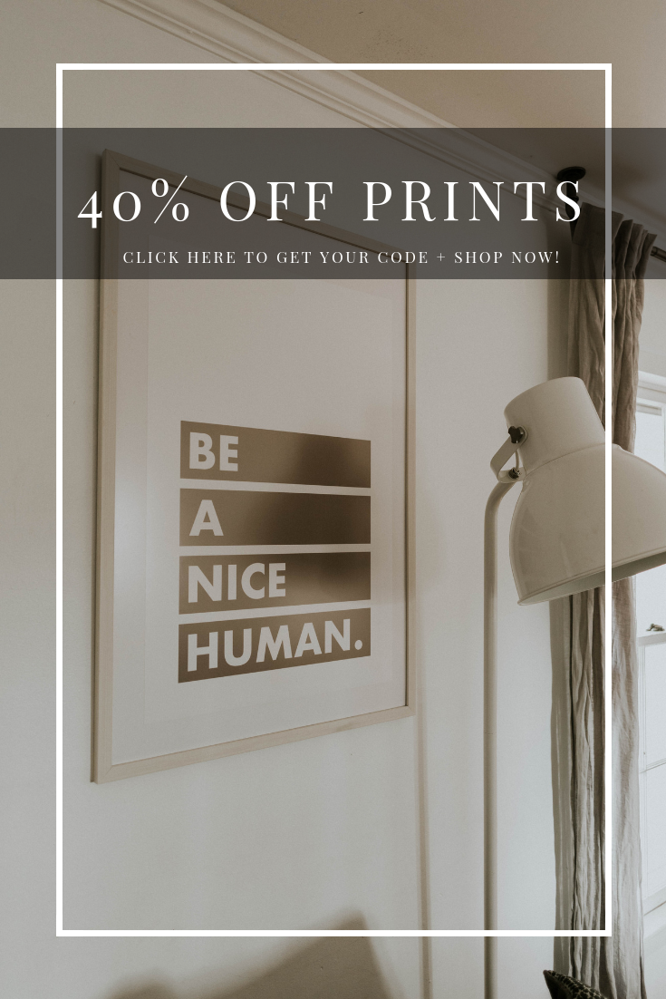 40% OFF YOUR PRINTS!!