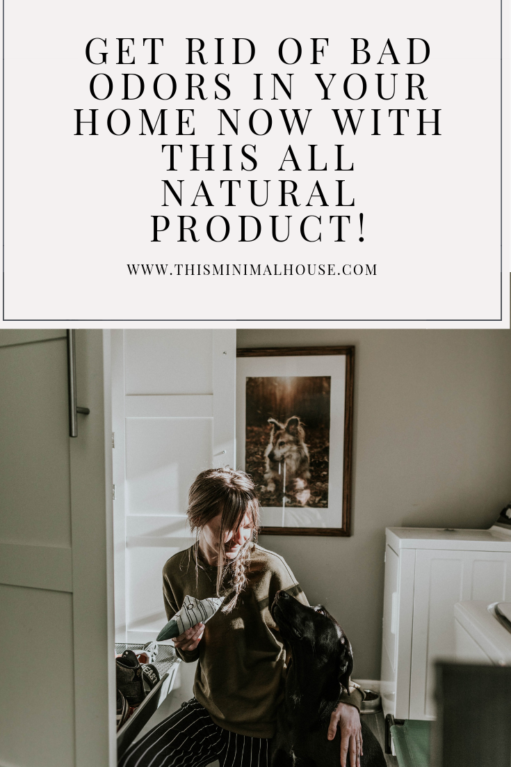 Get rid of odors in your home with this all natural product!