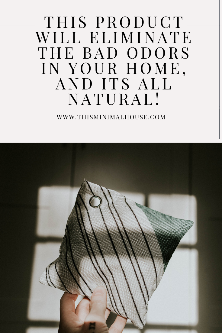 This product will get rid of the bad odors in your home, and it's all natural!