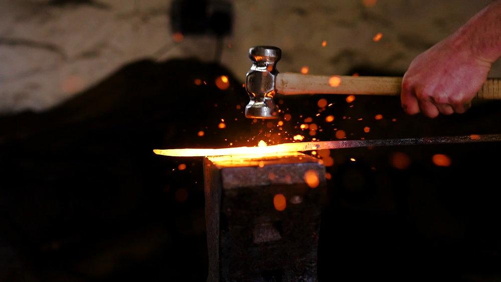 Cameron Huggins Blacksmith -