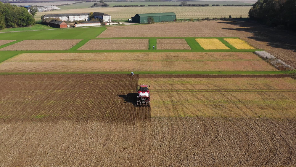 GFP Agriculture - Drilling the Trial Site
