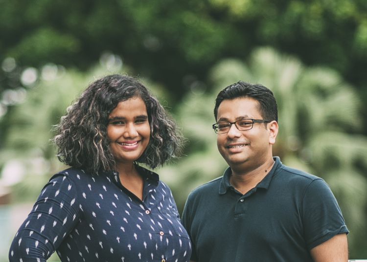 Naomi Jacob and Mayur Singh, co-founders of Coopita, a curated platform to protect and preserve the traditional crafts of Asia