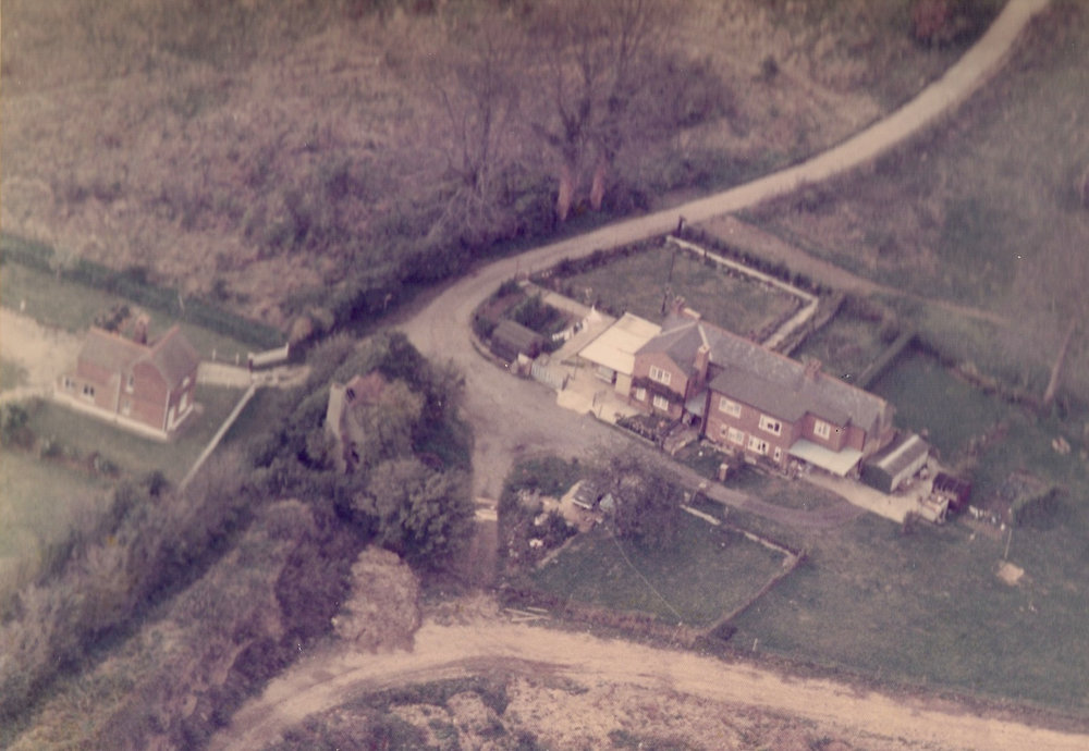 Old aerial photo