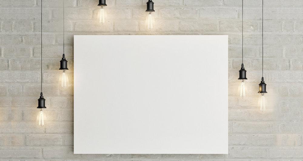 So lovely, so blank.