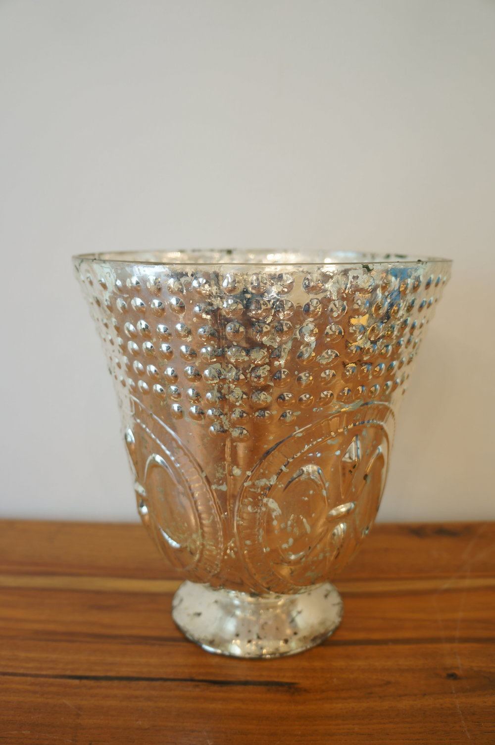 Large Silver Flare  Quantity: 4
