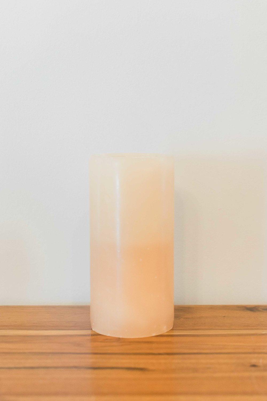Stone Candle (Medium)  Quantity: 10