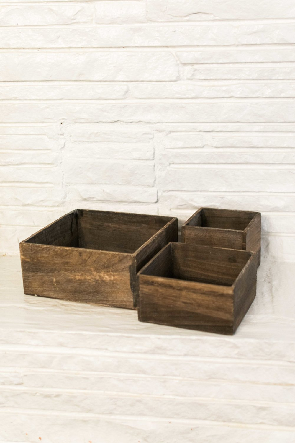 Assorted Wooden Boxes   Quantity: 45