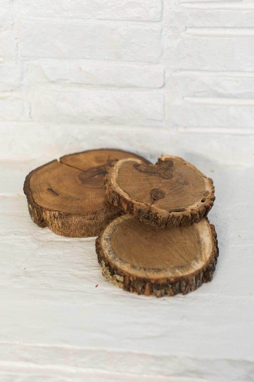 Assorted Wood Cookies