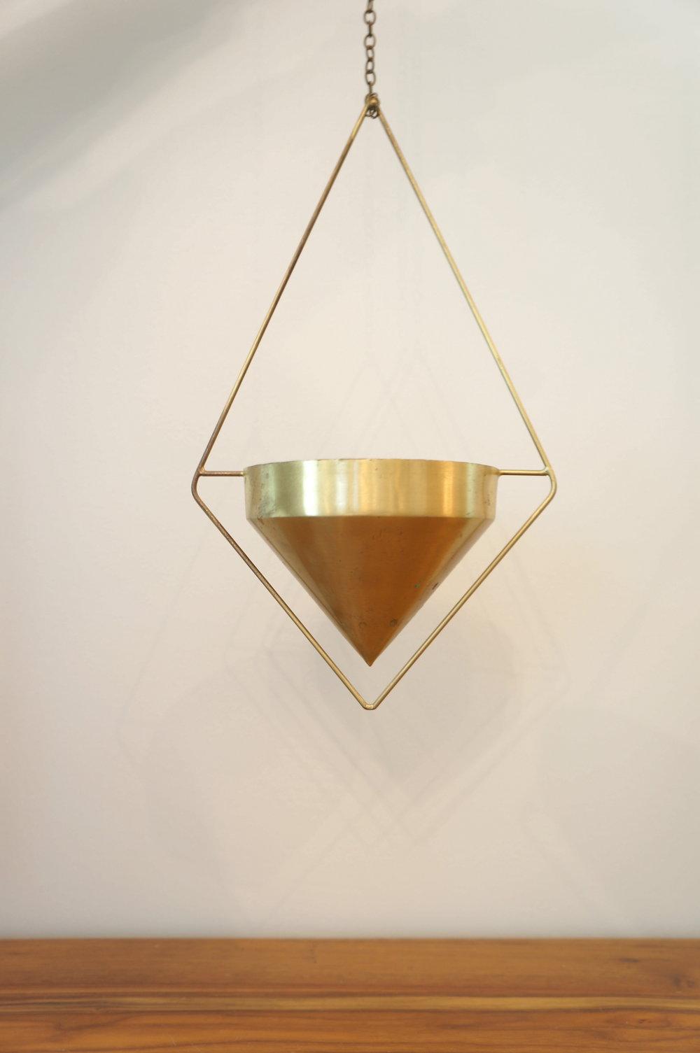 Hanging Gold Geo  Quantity: 3