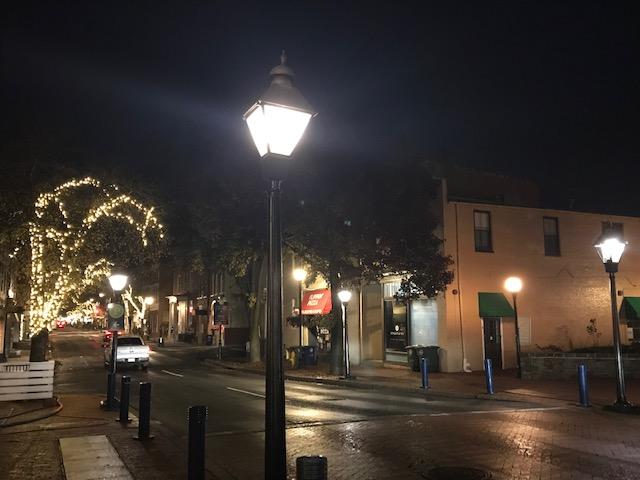 …upgrading street lighting to LED's… -