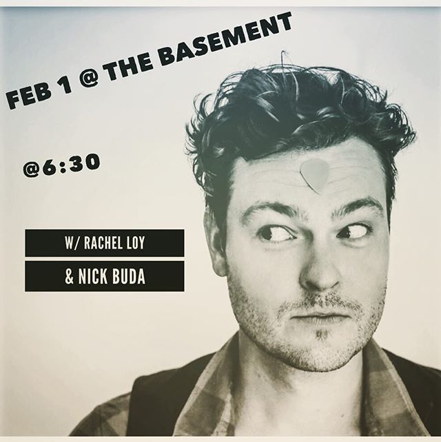 Tonight w/ @rachel_m_keane & @nickbuda ! Make sure to hang after and watch Rachel blow the roof off with her band ! @thebasementnash