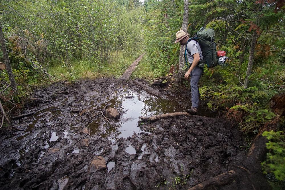 Navigating the mud fields