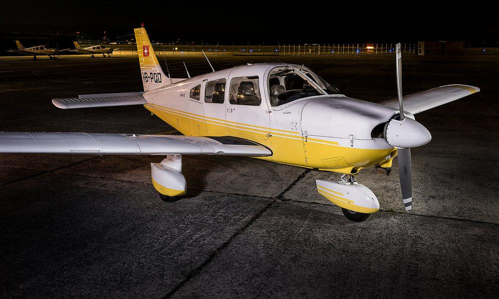 HB-PQD – Piper Archer II