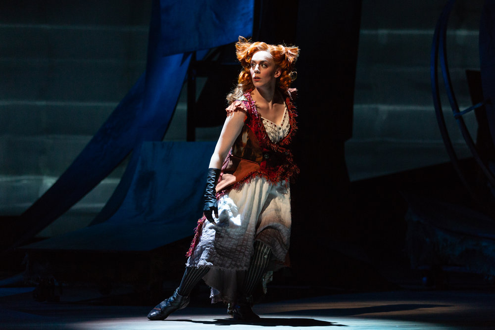 Vixen in The Cunning Little Vixen, The Glimmerglass Festival Photos by Karli Cadel
