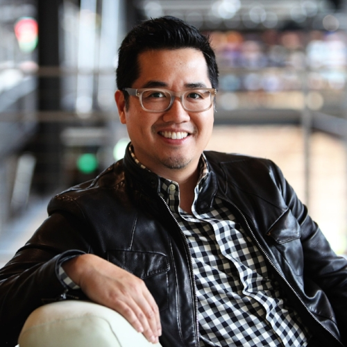 Mike Wu is photographed on March 30, 2012 at Pixar Animation Studios in Emeryville, Calif. (Photo by Deborah Coleman / Pixar)