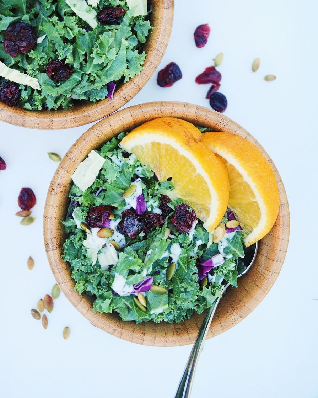 Superfood Kale Salad - Foody First