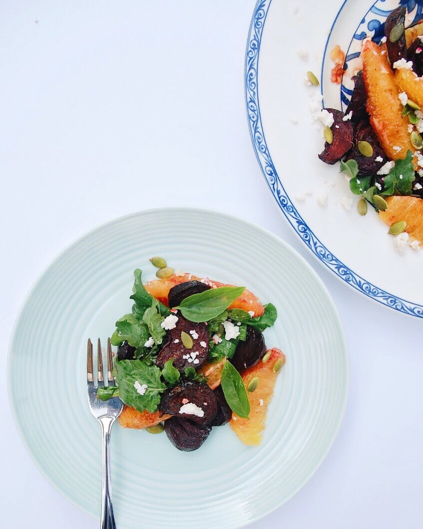 Roasted Beet and Orange Salad - Foody First