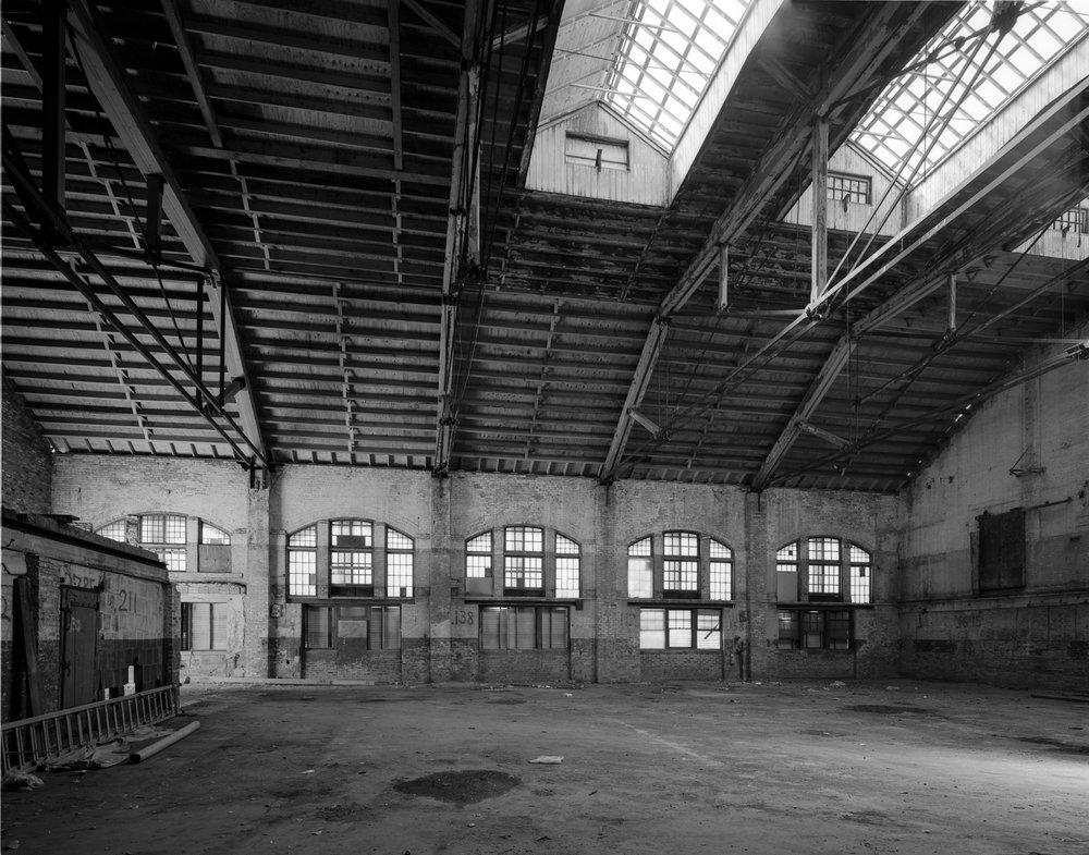 Pullman Factory Interior ©2000