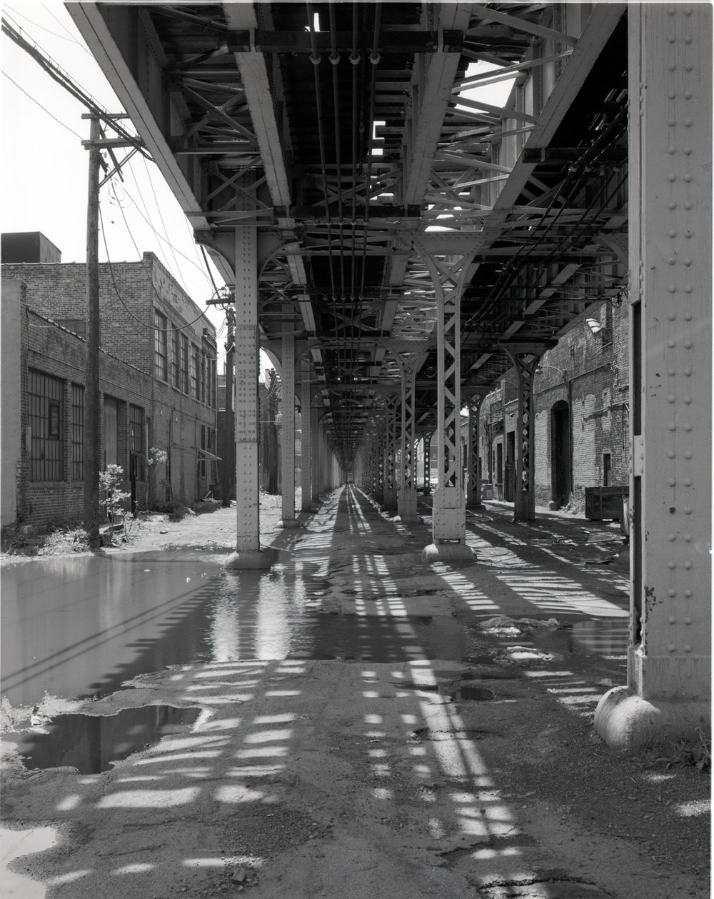 Under the El 18th Street Chicago