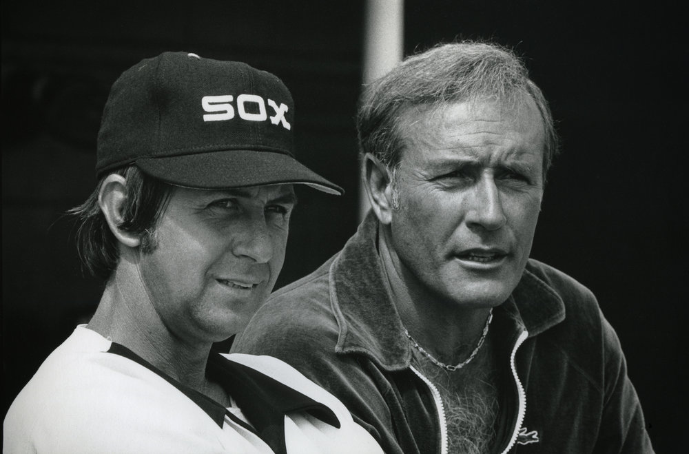 Don Kessinger  and Jimmy Piersall 1979