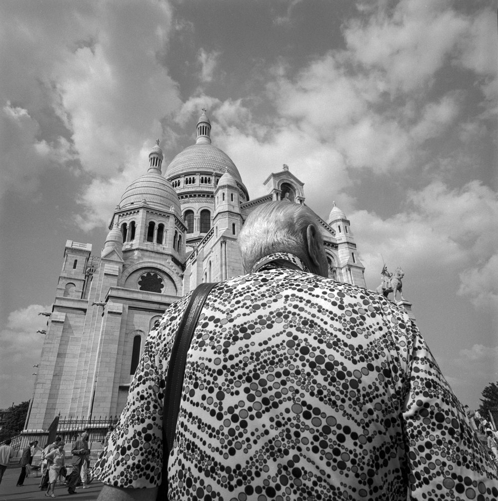 Bubble Shirt Man Sacre Coeur Paris 1985