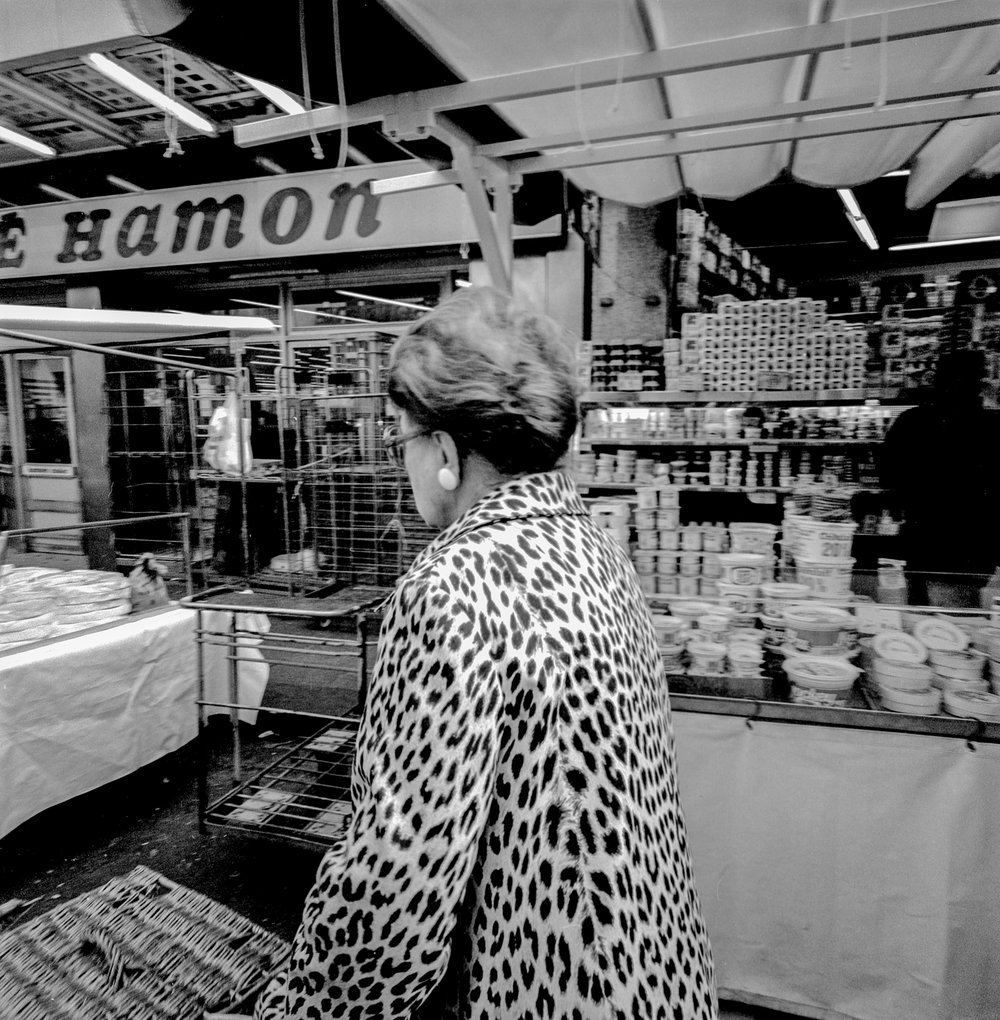 Leopard Coat Supermarket Paris 1985